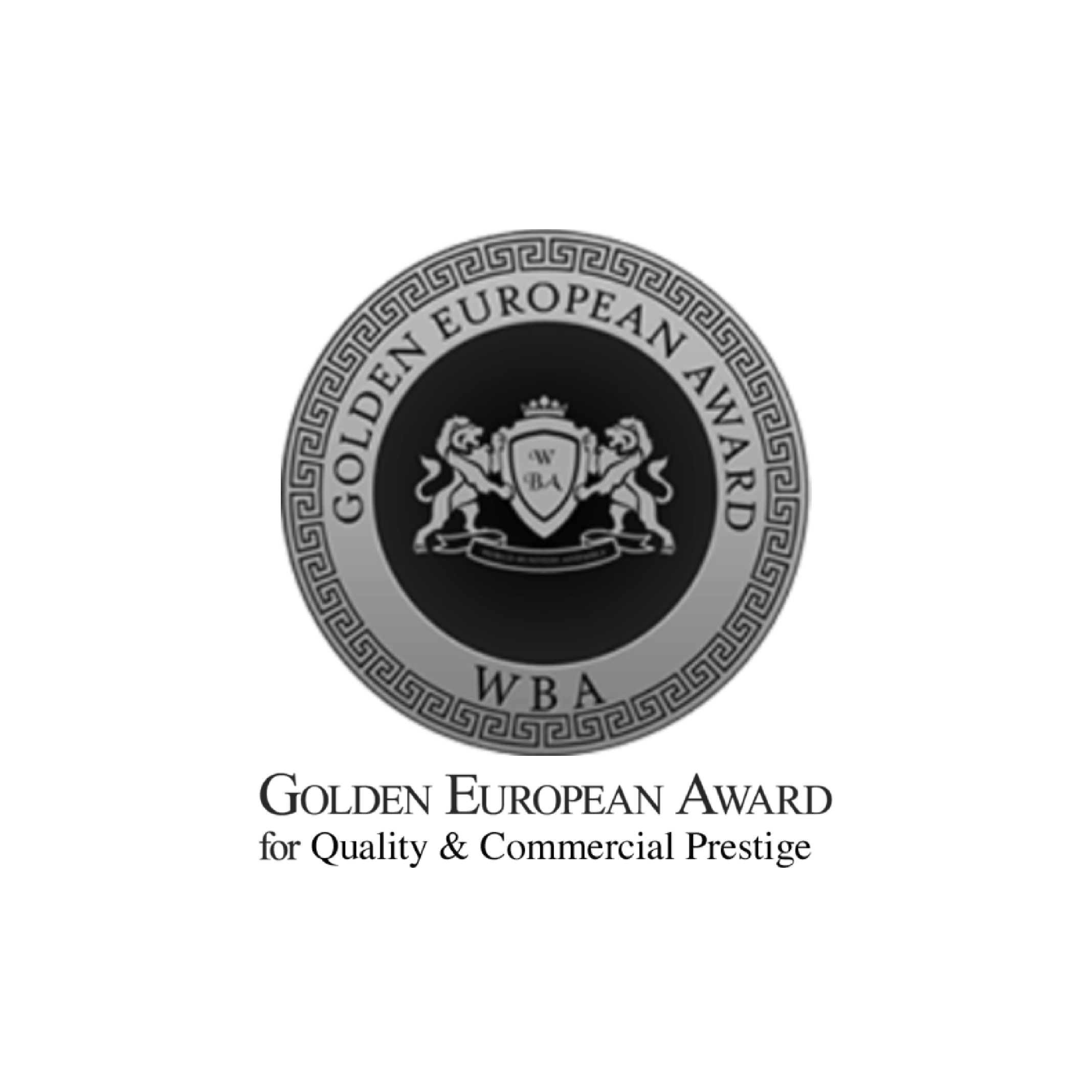 2017: THE GOLDEN EUROPE AWARD FOR QUALITY & COMMERCIAL PRESTIGE